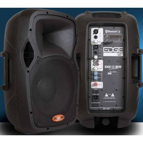 Caixa Ativa Acústica Donner EDGE 12 250 WATTS USB Bluetooth