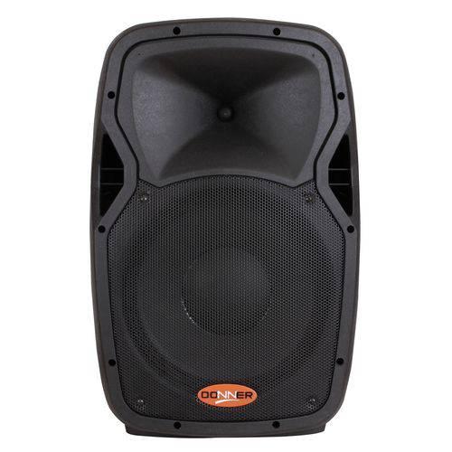 Caixa Ativa Acústica Donner EDGE 12S Alimenta Passiva 250 WATTS USB Bluetooth