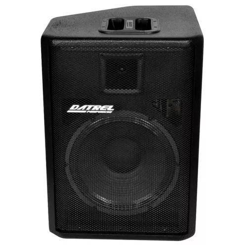 Caixa Ativa Amplificada 250w Rms Datrel Bluetooth Fm Sd