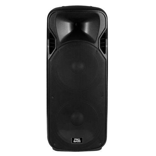 Caixa Ativa 2 de 15 e Bluetooth Pro Bass Power Bass 215