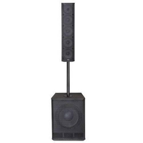 Caixa Ativa Line 450 Watts Rms Bluetooth Usb Dj Sub Vert1800