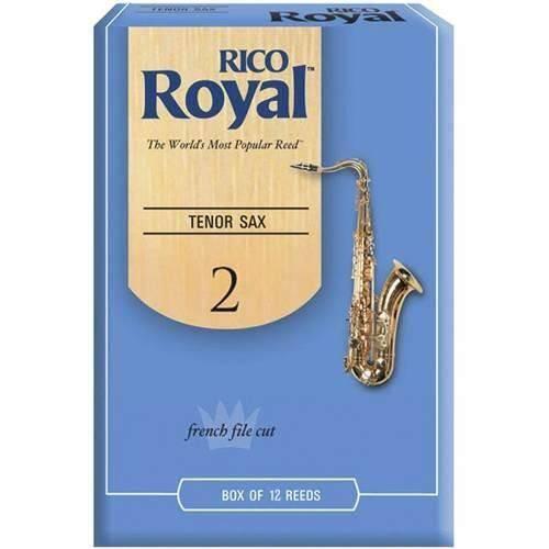 Caixa com 12 Palhetas P/ Sax Alto Rico Royal Rjb1220