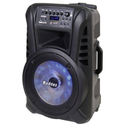 Caixa de Som 12 Polegadas com Bateria e Microfone 240watts Bootes Bmu-610
