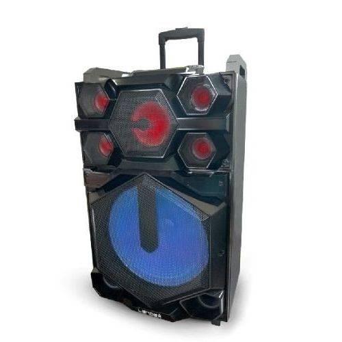 Caixa de Som 2800w Bluetooth Amplificada Ativa/Passiva Bateria