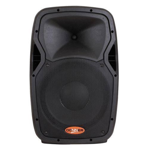 Caixa de Som Acústica Ativa Donner EDGE12 250W RMS 8 Ohms Bivolt