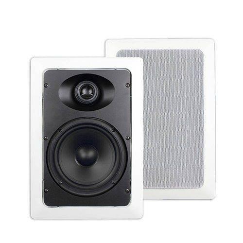 Caixa de Som Ambiente P/Embutir Gesso 80w Branca Sumay Sm-Cse60rt