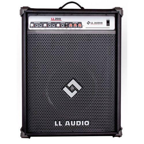 Caixa de Som Amplificada 50w Rms Bivolt Ll200 Ll Áudio