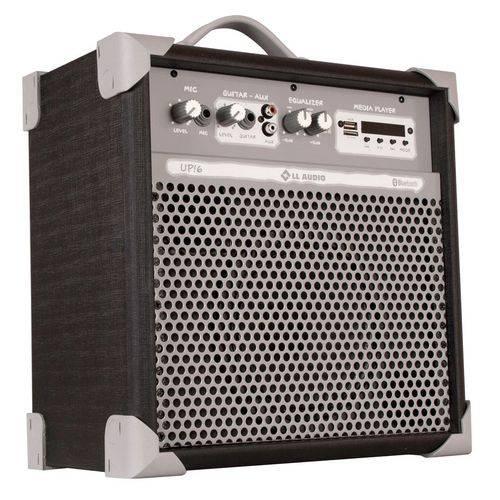 "Caixa de Som Amplificada Multi-uso 6"" Ll Up6 Usb/bluetooth 45w Rms (black)"