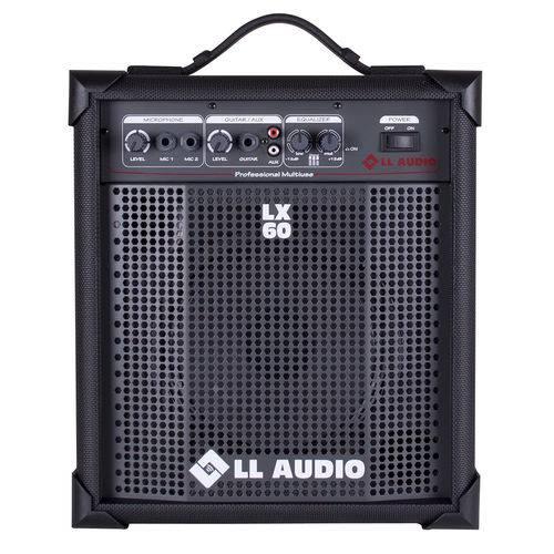 Caixa de Som Amplificada Multiuso LL Audio LX 60 15 Wrms