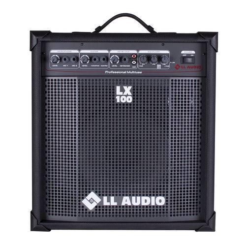 Caixa de Som Amplificada Multiuso LL Audio LX100 25 W Rms