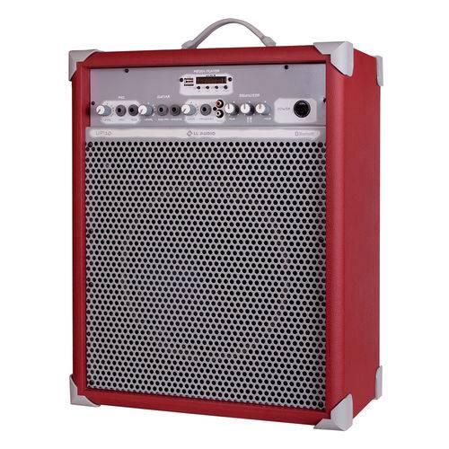 Caixa de Som Amplificada Multiuso LL Audio UP 10 Deep Red