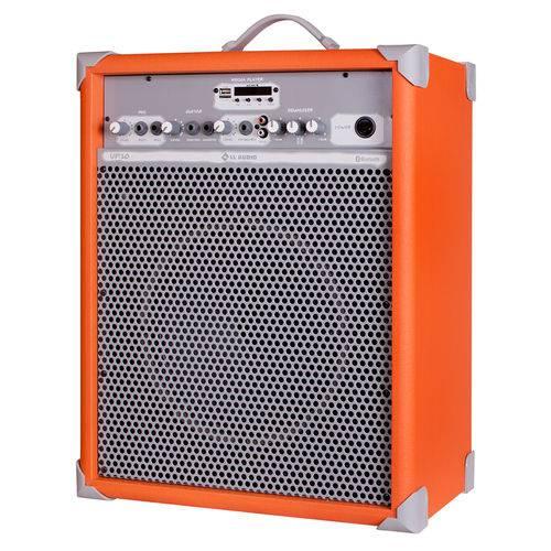 Caixa de Som Amplificada Multiuso LL Audio UP 10 Orange