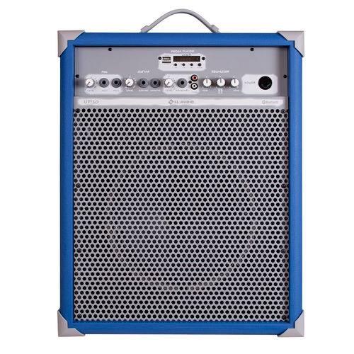 Caixa de Som Amplificada Multiuso LL Audio UP 10 Sky Blue