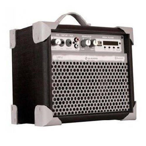 Caixa de Som Amplificada Multiuso Up!5 Fm/Usb/Bluetooth - Preta
