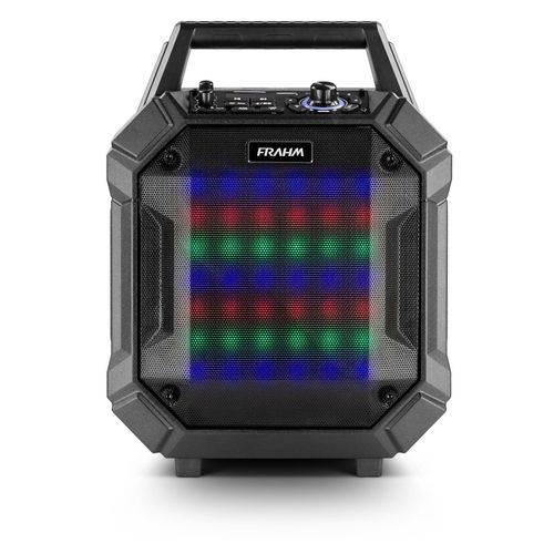 Caixa de Som Amplificada Pb 400 Bt Frahm Preta Emborrachada - Portátil - 200w Rms - Bluetooth - Usb