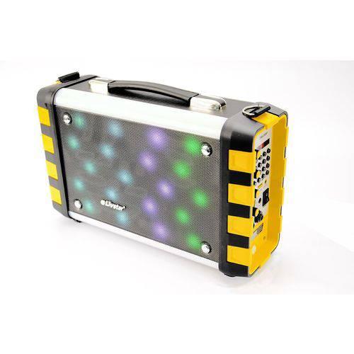 Caixa de Som Amplificada Radio Livstar Cnn-89sp Bluetooth USB Sd Mic Luz