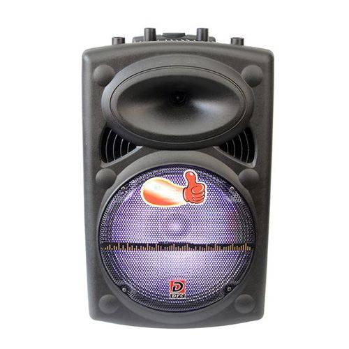 Caixa de Som Amplificada Radio Livstar Ls-1290b Bluetooth USB Sd Luz