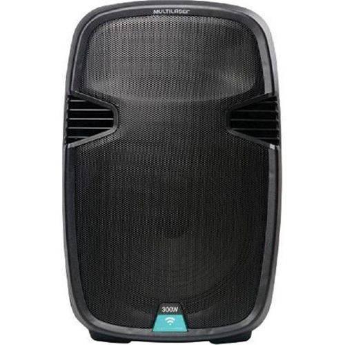 Caixa de Som Amplificadora Multilaser Trolley SP220, Preta, Rádio Fm, Bluetooth