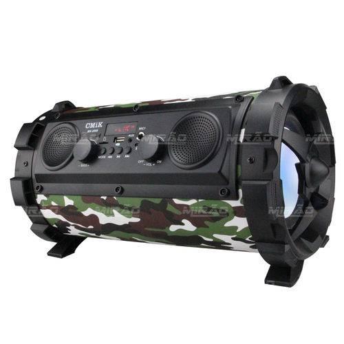 Caixa de Som Bazooka Grande com Visor - MK-2009