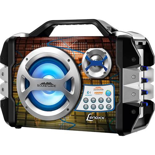 Caixa de Som Bluetooth Amplificada Sound Wave Ca 325 Lenoxx - 100W