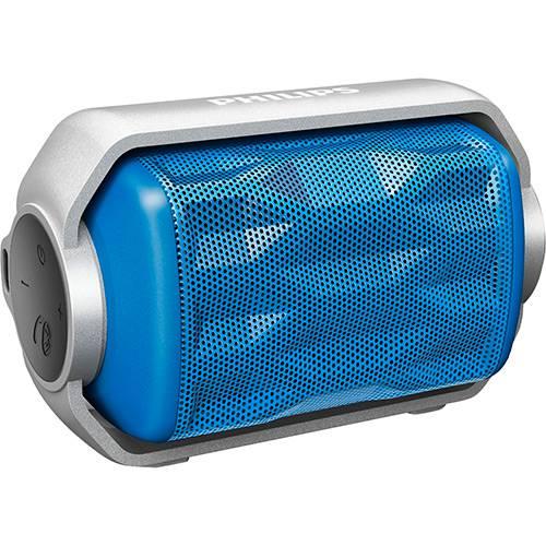 Caixa de Som Bluetooth Philips BT2200A/00 Azul 2,8W Prova D'água