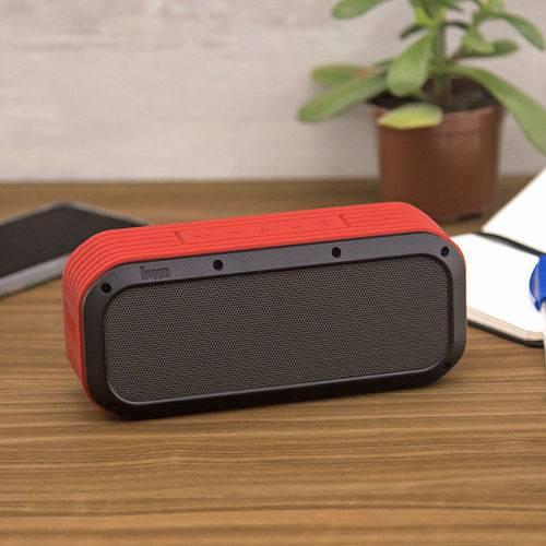 Caixa de Som Bluetooth Voombox Outdoor Vermelha - Divoom