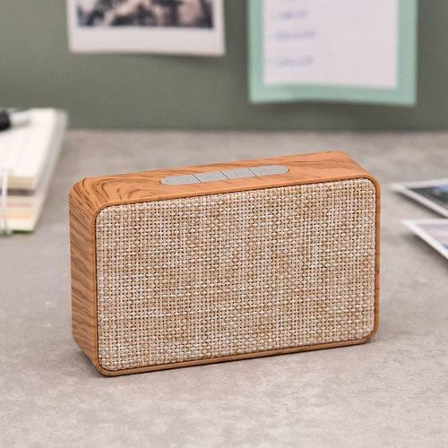 Caixa de Som Bluetooth X500 Madeira - Xtr