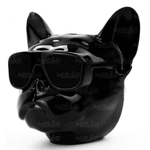 Caixa de Som Bulldog Bluetooth Fm Sd Mini Original Preto Exbom - 2730-s3