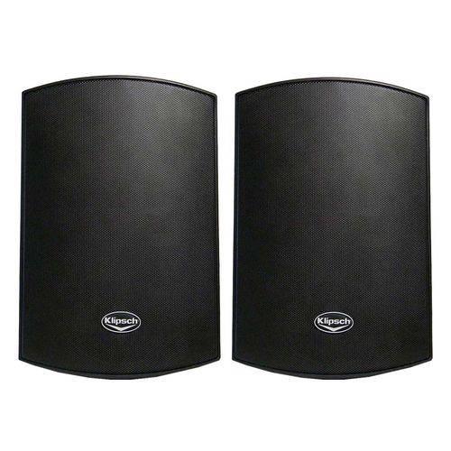 Caixa de Som Externa Aw-650-b Preta (par) - Klipsch