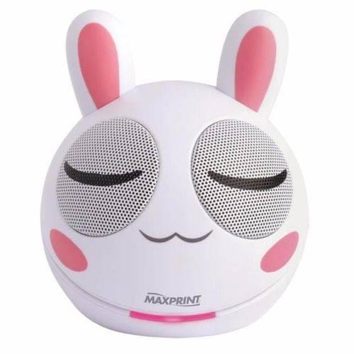 Caixa de Som Mini Portátil Rabbit 4w Rms Maxprint