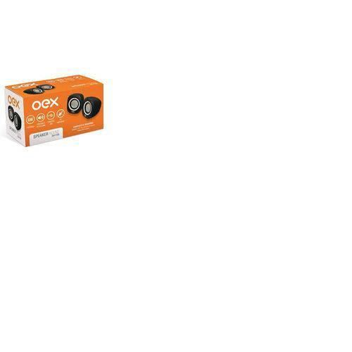 Caixa de Som Oex Speaker Round USB