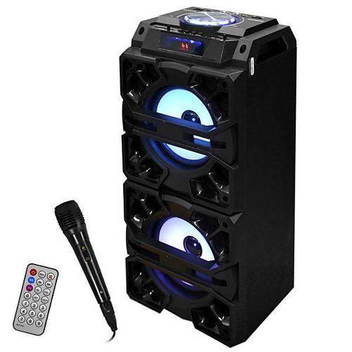 Caixa Karaoke Roadstar Rs-3152cx Bivolt/30w Rms com Usb/bluetooth/slot Micro Sd - Preta