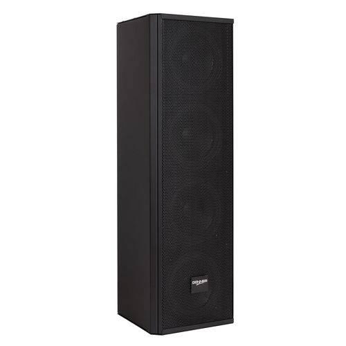 Caixa Line Array Vertical Passiva Acústica Donner C425 Preta 100 Watts RMS
