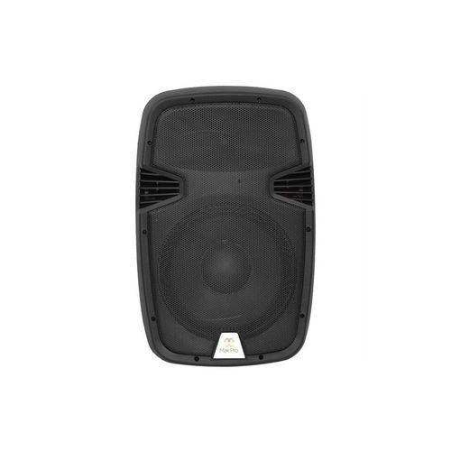 Caixa Makpro Ativa 15p 100w C/ 2 Microfone