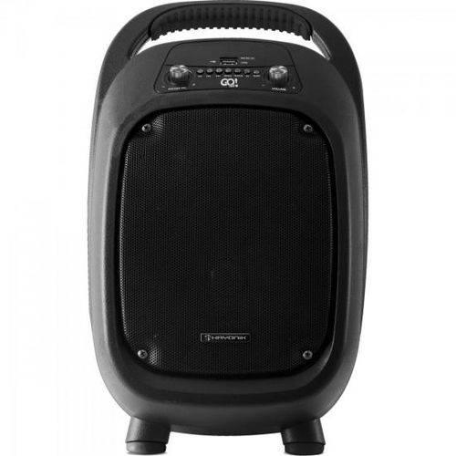 Caixa Multiuso Portátil 100w Bluetooth/microsd/usb/fm Go!100