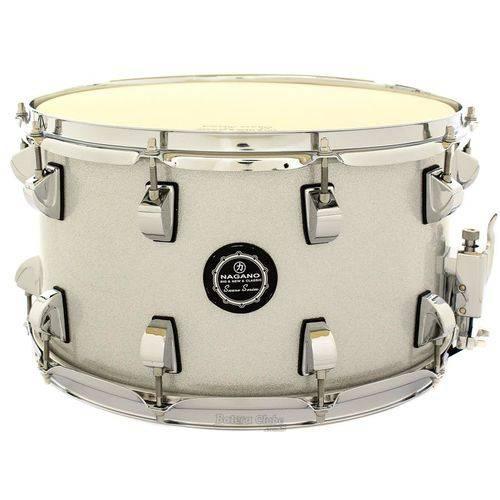Caixa Nagano Snare Series Big Beat Grey Sparkle 14x8¨