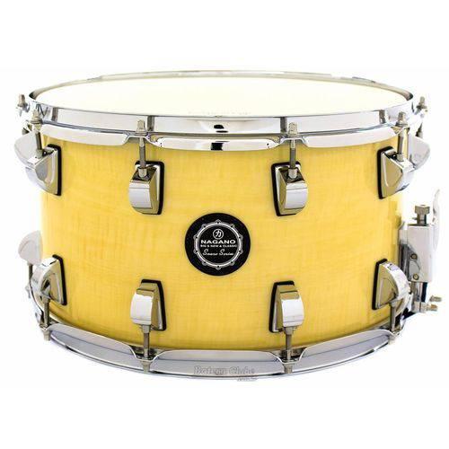 Caixa Nagano Snare Series Big Beat Natural Ivory 14x8¨