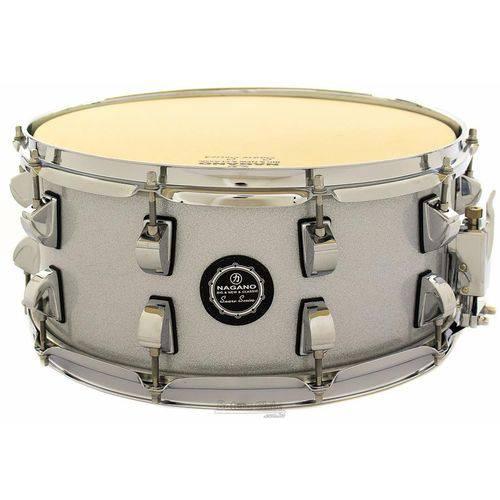 Caixa Nagano Snare Series Classic Beat Grey Sparkle 14x6,5¨