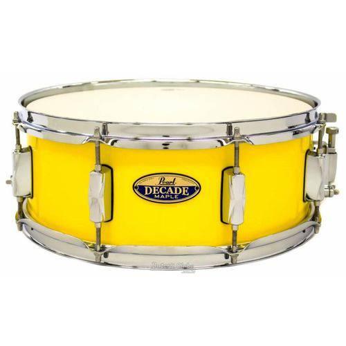 Caixa Pearl Decade Maple Solid Yellow 14x5,5¨ com Casco Fino