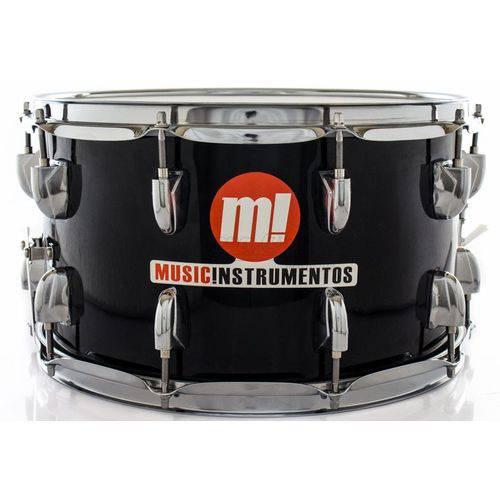 Caixa Phx Music Instrumentos Basswood Black 580-pvc-bk 14x8¨ Ballad Snare