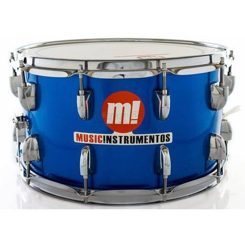 Caixa Phx Music Instrumentos Basswood Royal Blue 580-pvc-az 14x8¨ Ballad Snare