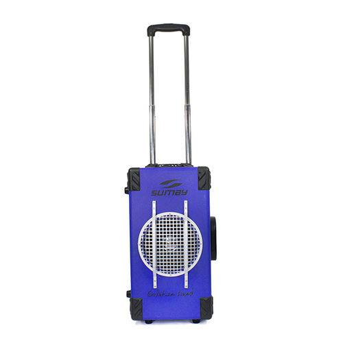 Caixa Som Amplificada Sumay Vibe One 200W Rms Wireless- Azul