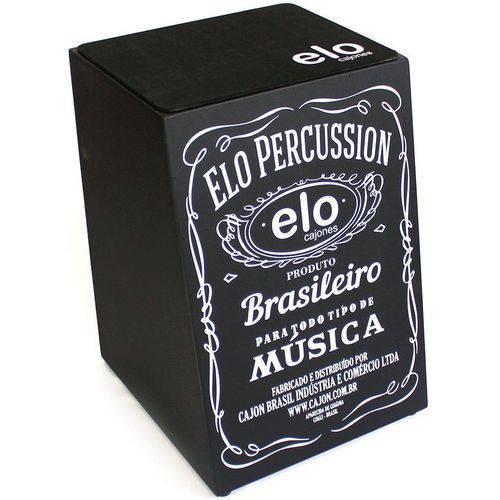 Cajon Acústico Cajon Percussion Elo El505a