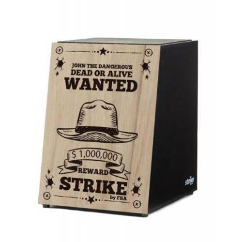 Cajon Acústico Fsa Strike Series - Wanted - Sk4018