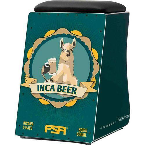 Cajon Azul Design Inca Beer Fc 6626 Fsa com Captação