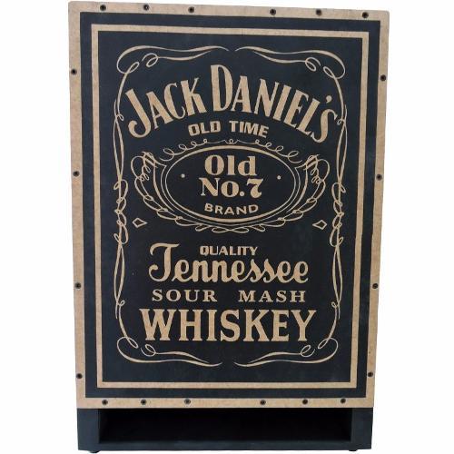 Cajon Elétrico Inclinado Jaguar Ressonante Jack Daniels Jd