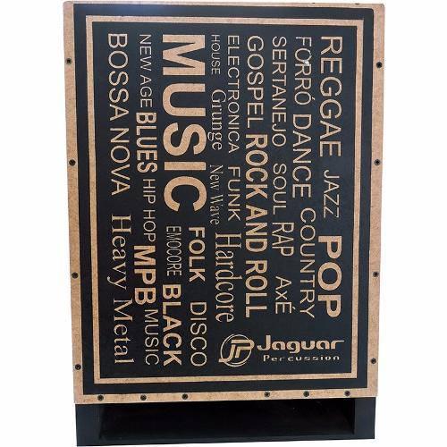 Cajon Elétrico Inclinado Jaguar Ressonante Musica Cj1000 K2