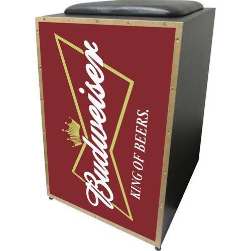 Cajon Eletroacústico Profissional K2 COR-001 EQ Budweiser