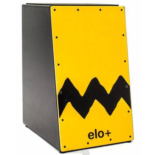 Cajón Elo+ Inclinado Em113 Charlie Brown com Tampo em Paricá, Assento Emborrachado (liquidação)
