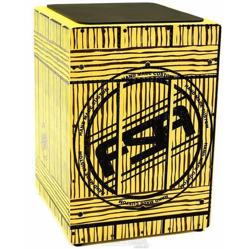 Cajón Fsa Square Series Box Flc8181 com Dupla Captação Ativa e Assento em E.v.a.